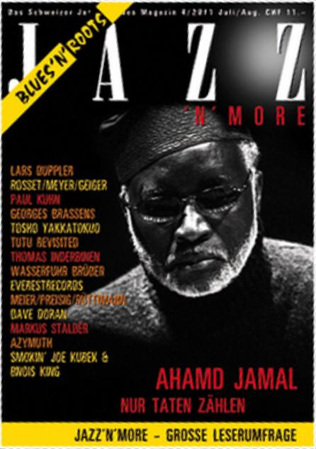 JAZZ'N'MORE Ausgabe Juli/August