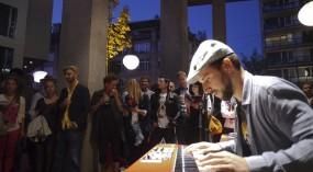 Museumsnacht 2012: Claude Diallo Situation (Roter Platz/Macelleria d'Arte)