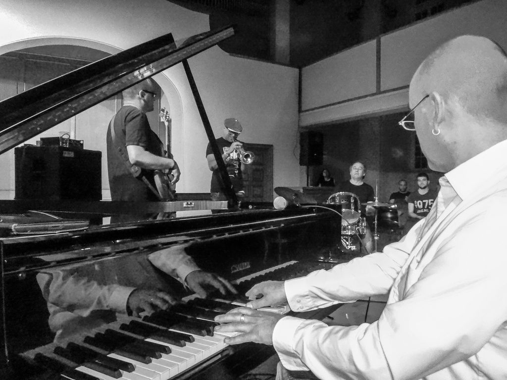 JAM Ostschweizer Jazz Kollektiv @ Offene Kirche St.Gallen 2015 © 2014 Peter Hummel, report h+h