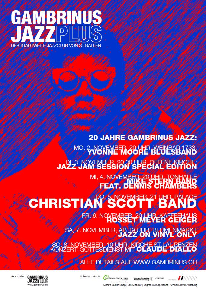 gambrinus jazz plus | Christian Scott Band