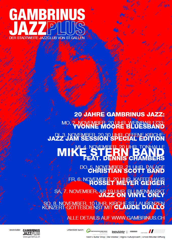 gambrinus jazz plus | Mike Stern Band