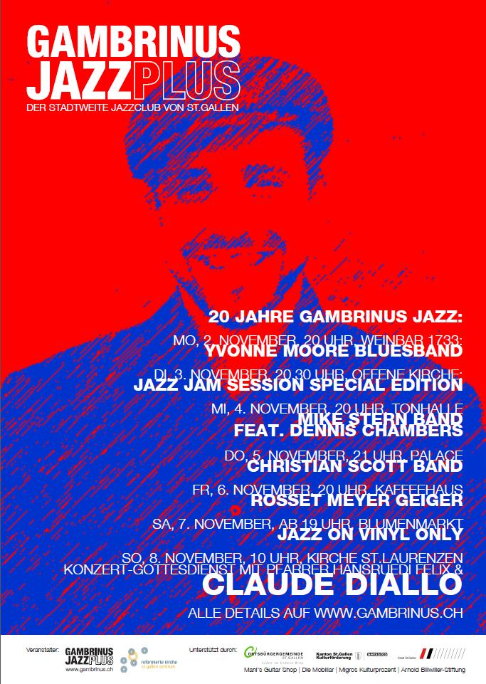 gambrinus jazz plus | Claude Diallo