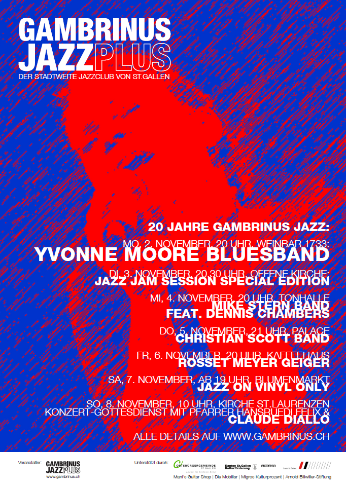gambrinus jazz plus | Yvonne Moore Bluesband