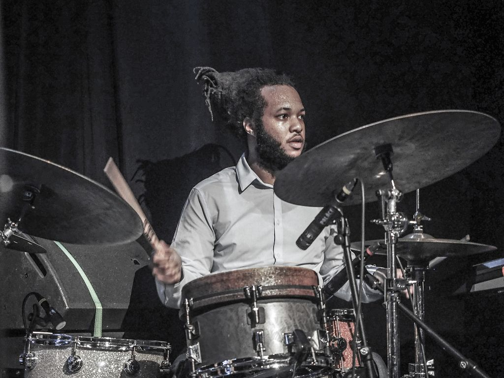 Christian Scott aTunde Adjuah @ Palace St.Gallen © 2015 Peter Hummel, report h+h