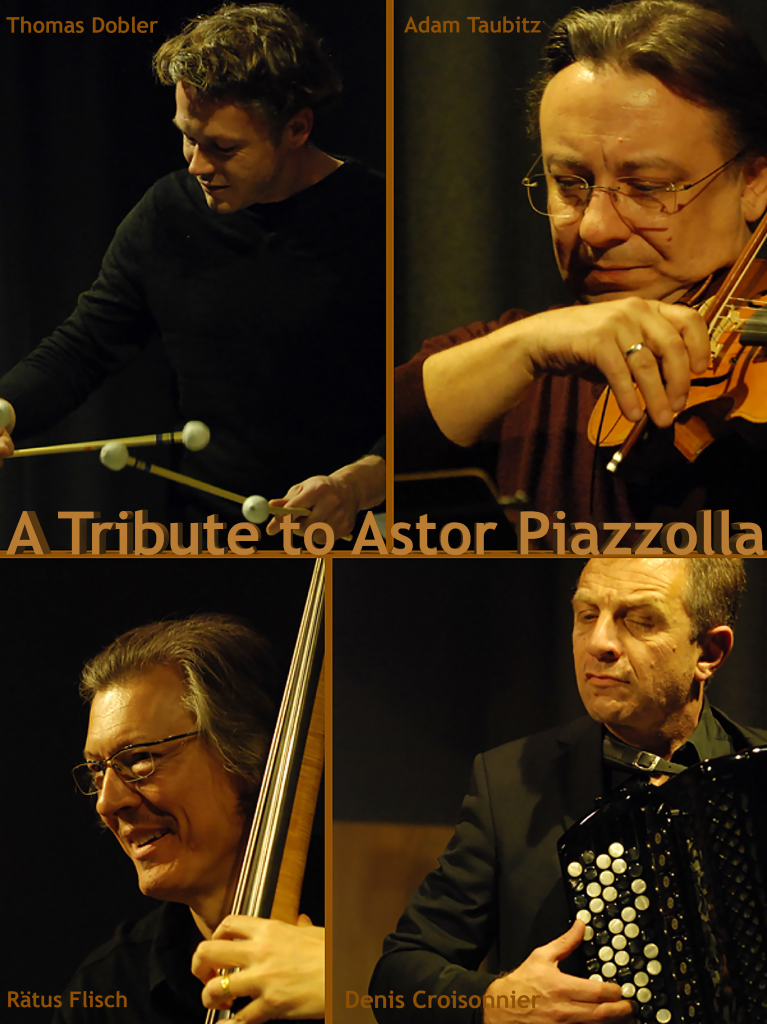 photo tribute to Astor Piazzolla